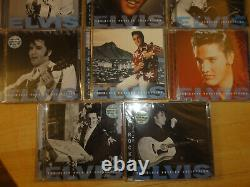 RARE! Lot of 11 Elvis Presley CDs, Time-Life Collection, 10 Sealed in plastic