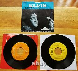 RARE MINT PROMO & 99% MINT REG Elvis Presley HOW GREAT THOU ART With PS 74-0130