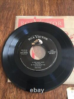 RARE NM! Rockaway 2 eps Elvis Presley RCA Victor EPB-1254 1956 No line