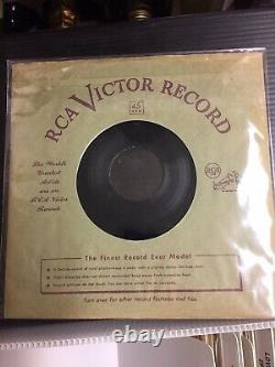 RARE! Original Elvis Presley RCA EP 8705 (G8-MW-8705) BLUE LABEL! NM