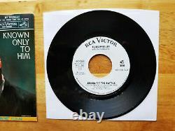 RARE PROMO Elvis Presley JOSHUA FIT THE BATTLE 447-0651 w / EXCELLENT P/S