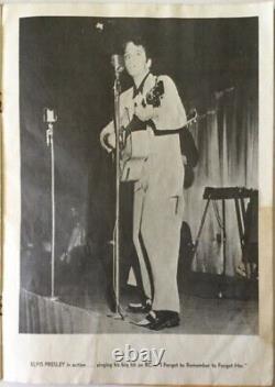 Rare 1956 Elvis Presley Mr. Rhythm Souvenir Picture Album Program