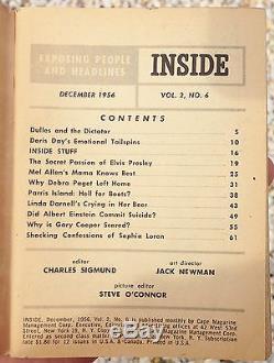 Rare! 1956 Inside Mini Magazine The Secret Passion Of Elvis Presley