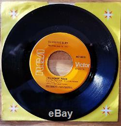 Rare 1968 Orange Label Gss Elvis Presley Jailhouse Rock/treat Me Nice 447-0619