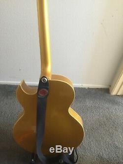 Rare 2005 Epiphone ES 295 Elvis Presley-Scotty Moore Goldtop Guitar