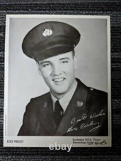 Rare'58 ELVIS PRESLEY King Creole 8x10 PHOTO INSERT from RCA LPM1884 Bonus