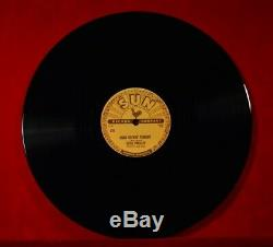 Rare 5 x ELVIS PRESLEY Vinyl 78rpm USA Records All 5 SUN releases 70s reissues