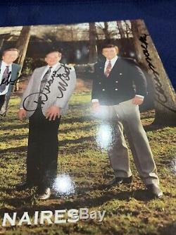 Rare Authentic Signed Autographed Authentic Elvis Presley & The Jordanaires Lot