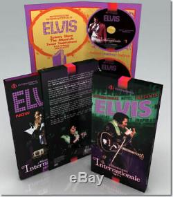 Rare Boxset 2 Cds + Livre Photos Elvis Presley Showroom Internationale 1971