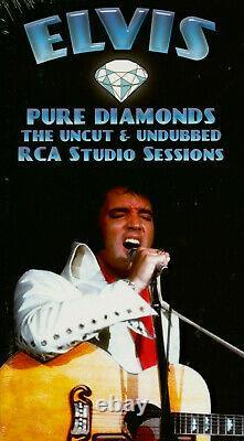 Rare Boxset 4 Cds Elvis Presley- Pure Diamonds The Uncut & Undubbed Rca Sessions