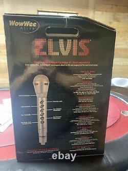 Rare Collector Piece Elvis Presley Talking and Singing Robot By WowWee Has Tape