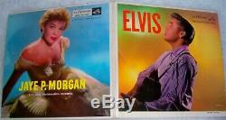 Rare ELVIS PRESLEY JAYE P MORGAN Original Promo 1956 Gatefold Extended Play NM
