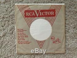 Rare Elvis Mystery Train Elvis' First Promo Stone Mint Original W Sleeve