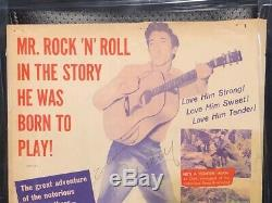 Rare Elvis Presley 1956 Love Me Tender Movie Theatre Advertisement Framed