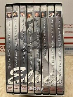 Rare Elvis Presley 25th Anniversary 8 DVD Set The Definitive Collection Sealed