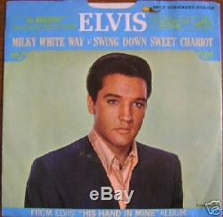 Rare Elvis Presley 447-0652, Miky White Way, Wlp, Exc