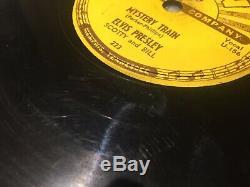 Rare Elvis Presley 78 Mystery Train b/w I Forgot Sun 223 (VG+, Matrix U-156/7)