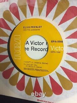 Rare Elvis Presley A Touch of Gold Volume 1. ORANGE LBL EPA-5088 NM EXCELLENT