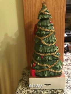 Rare Elvis Presley Christmas Decanter and Music Box