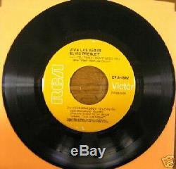 Rare Elvis Presley Epa-4382, Viva Las Vegas, Orange Lbl