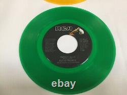Rare Elvis Presley Experimental Test Pressings Moody Blue Colored Vinyl Set