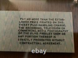 Rare Elvis Presley Original/authentic Concert Ticket Portland, Me 8/17/77 Tcb