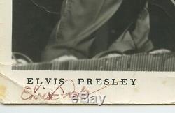 Rare Elvis Presley Promo Photo Autographed 8 x 10 Original 1956