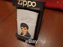 Rare Elvis Presley Prototype Zippo Lighter 1986