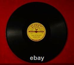 Rare JOHNNY CASH 78rpm USA record SUN HOME OF THE BLUES / GIVE MY LOVE TO ROSE