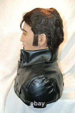 Rare Lifesize Collector Elvis Presley Talking and Singing Robot by Wow Wee / box