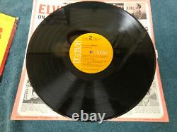 Rare Lsp-4155 From Elvis In Memphis Hype Sticker & Photo 1969 Mint Condition