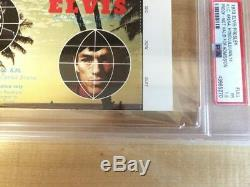 Rare Original Elvis Presley Aloha From Hawaii Unused Ticket 1973 Psa Approved