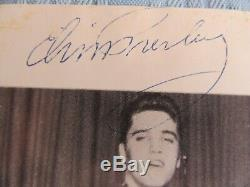 Rare Original Elvis Presley Candid 4 1/2 X 5 1/2 Black White Photo