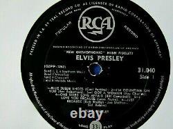 Rare Original South Africa Rock LP Elvis Presley Elvis Presley RCA