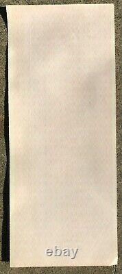 Rare Original Unused 1977 Elvis Presley Savannah, Ga Concert Ticket Uncut Sheet
