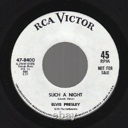 (Rare Promo) Elvis Presley Such A Night /Never Ending RCA Victor 47-8400 1964