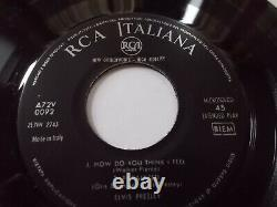 Rare Strictly Elvis Ep From Italy In Excellent+condition 1957