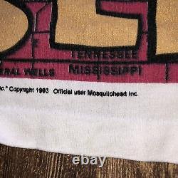 Rare Vintage 1993 Mosquitohead Elvis Presley Tshirt
