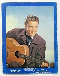 Rare early original 1956 ELVIS PRESLEY Souvenir Photo Album