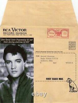 (Rare mailer envelope Easter Sleeve) Elvis Presley RCA Victor 1966 sleeve only