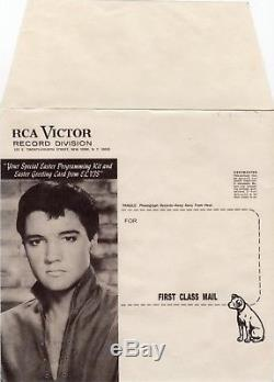 (Rare mailer envelope Promo Easter Sleeve) Elvis Presley 1966