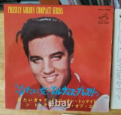 SUPER RARE 1965 JAPAN Elvis Presley HARD HEADED WOMAN COMPACT 33 SCP-1243