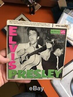 Scarce Rare ELVIS PRESLEY 45rpm DOUBLE EP EPB-1254 Rare -original Authentic