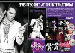 Super Rare Boxset 4 Cds + Livre Elvis Presley- Rebooked At The International 70