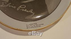 Super rare orig. Elvis Presley EPE 1956 glass ashtray / coaster
