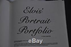 The Life of ELVIS PRESLEY + Portrait Portfolio Sean Shaver box set ex cond RARE
