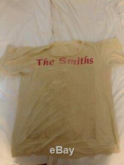 The Smiths vintage Elvis Presley shirt L Morrissey RARE new order cure