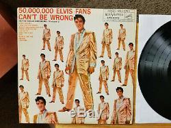 ULTRA-RARE FIRST PRESSING Elvis Presley ELVIS GOLD VOLUME 2 LPM-2075 NO RE