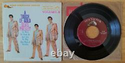 ULTRA-RARE MAROON LABEL Elvis Presley A TOUCH OF GOLD VOLUME 3 EPA-5141