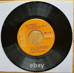 ULTRA-RARE MINT 1968 ORANGE LABEL Elvis Presley JAILHOUSE ROCK EPA-4114